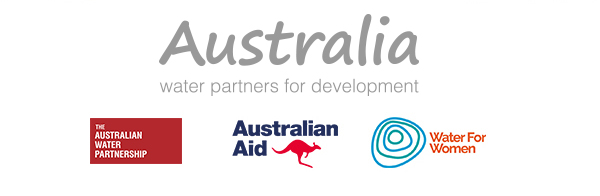 Australia - water partners for development logo