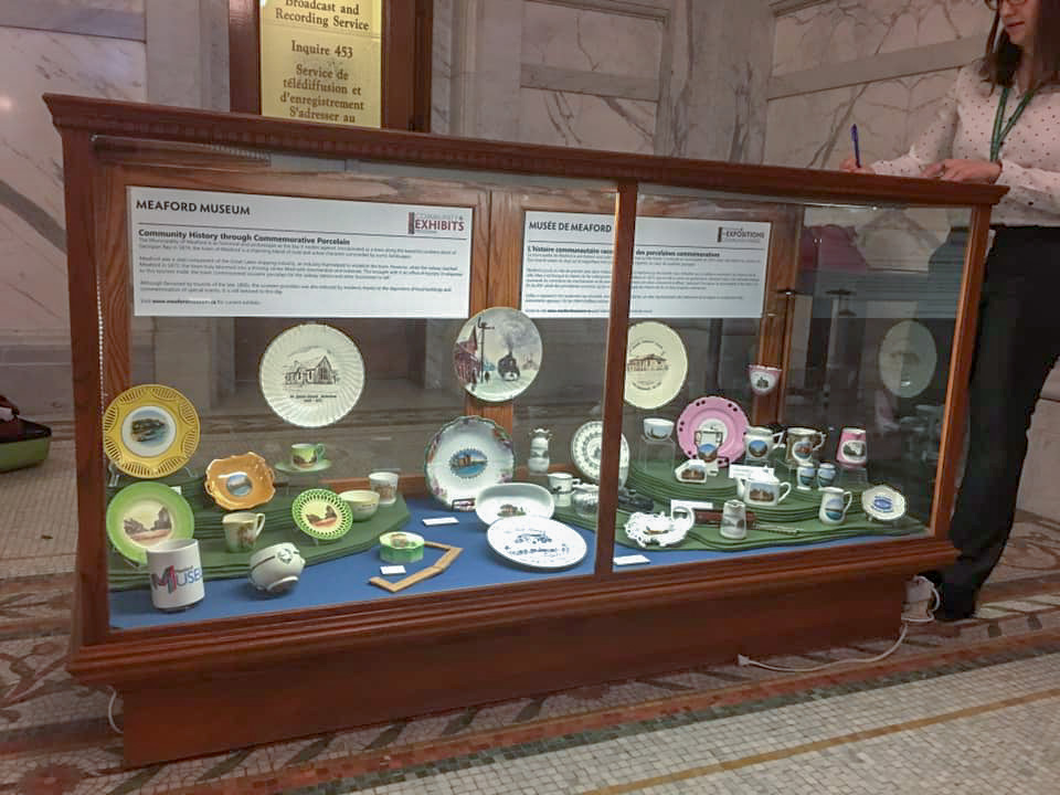 Meaford Museum Exhibit at Queen's Park 1
