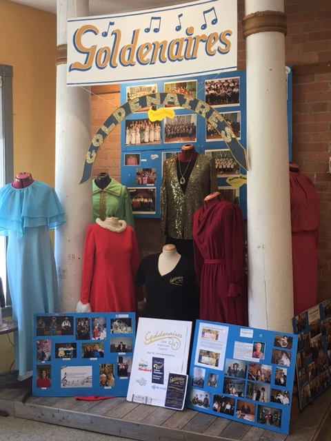 Goldenaires Display - Meaford Museum