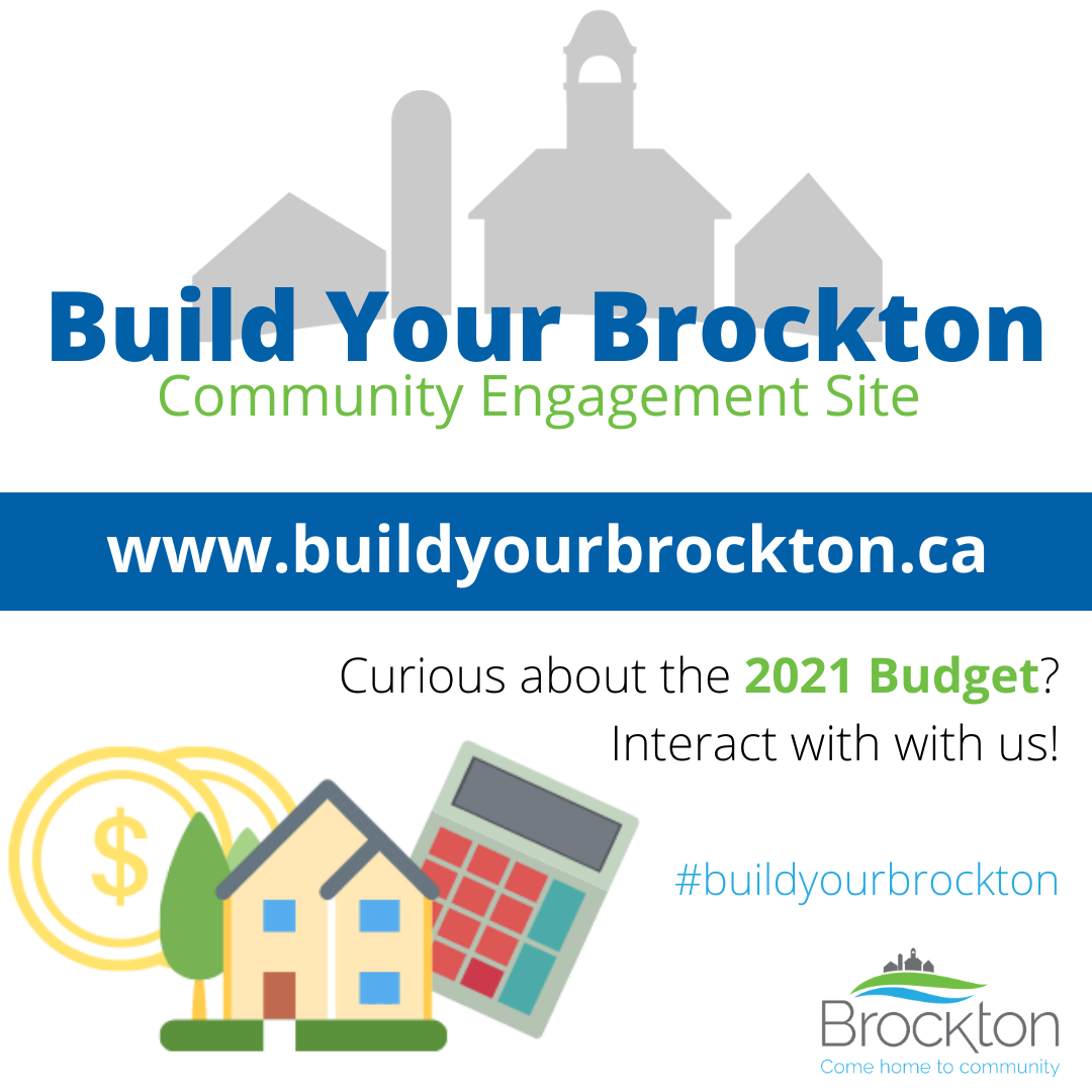 Budget 2021 - Build Your Brockton