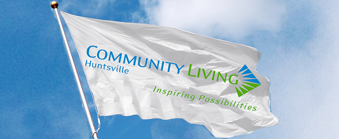 Community Living Huntsville Flag