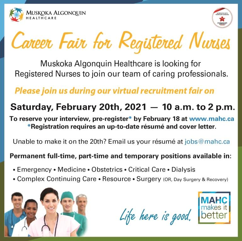 Career Fair Promotional Graphic