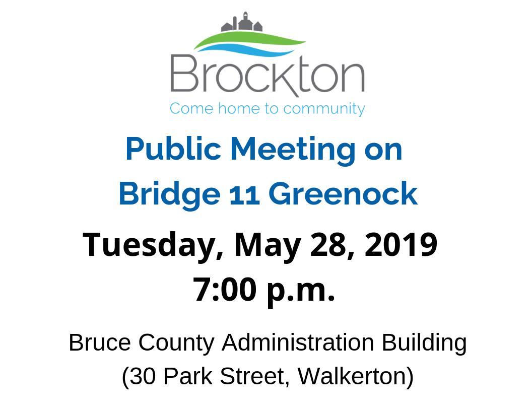 Public Meeting on Bridge 11 Greenock