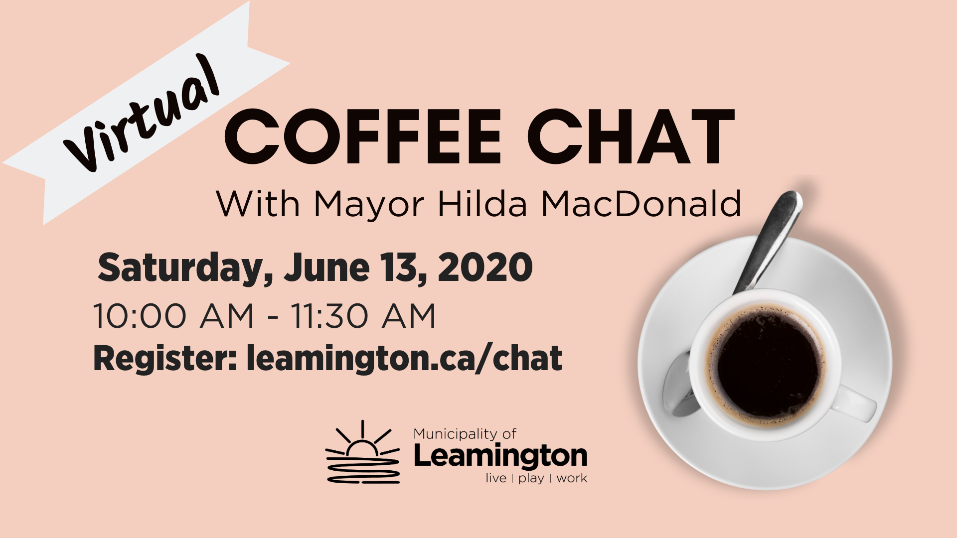 Virtual Coffee Chat - June 13