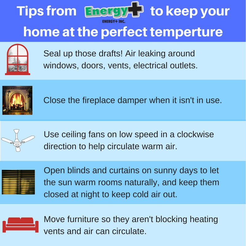 Tips to Keep Your Home at Perfect Temperature in Cold Weather
