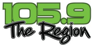 105.9 The Region logo