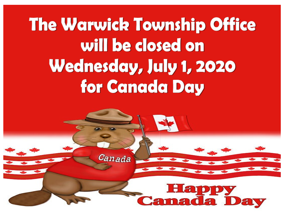 Canada Day Office Closure
