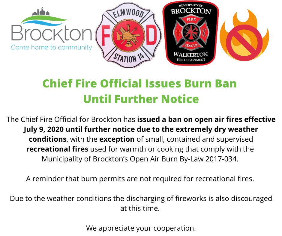 Burn Ban July 9 2020