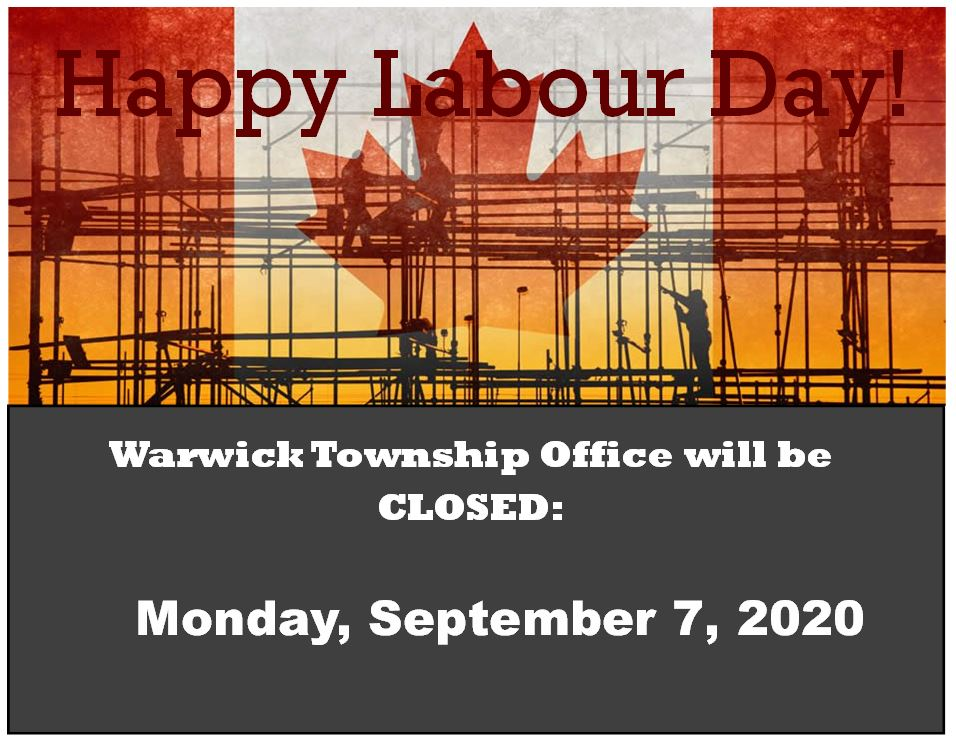 Labour Day Office Closure