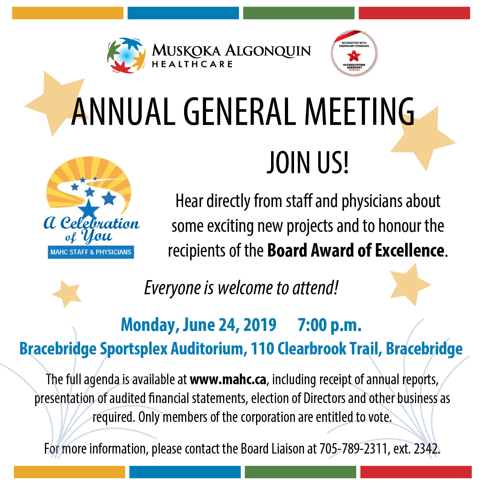 Annual General Meeting notice