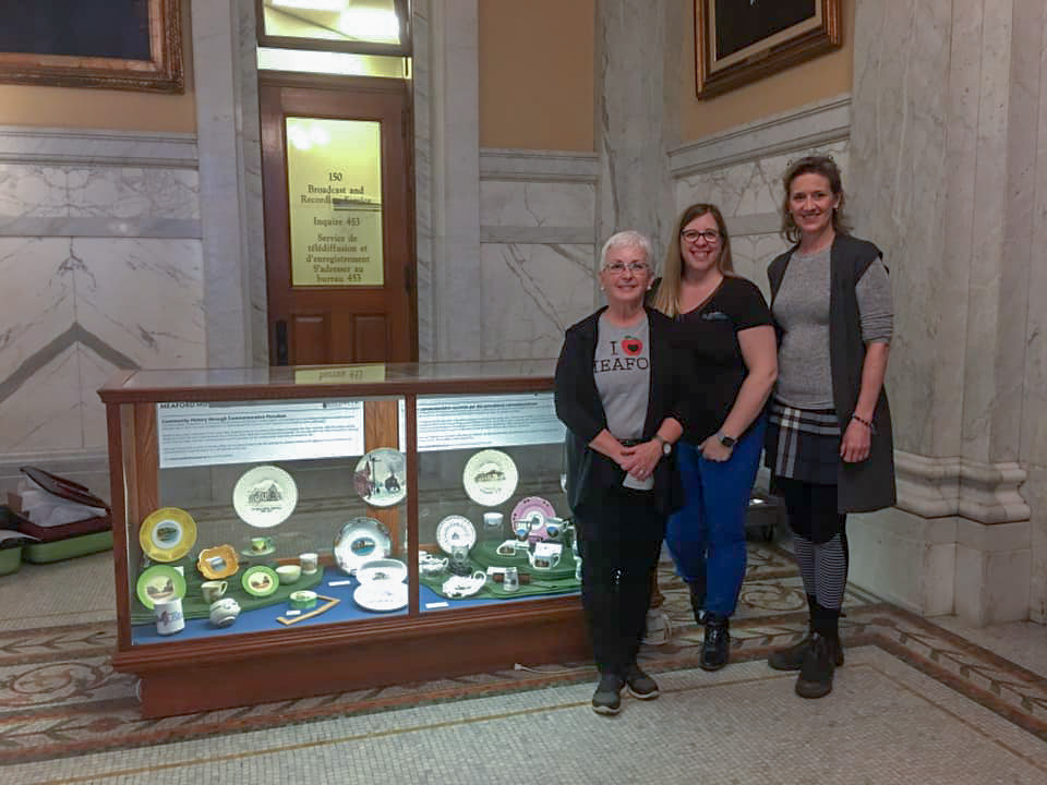 Meaford Museum Exhibit at Queen's Park 2