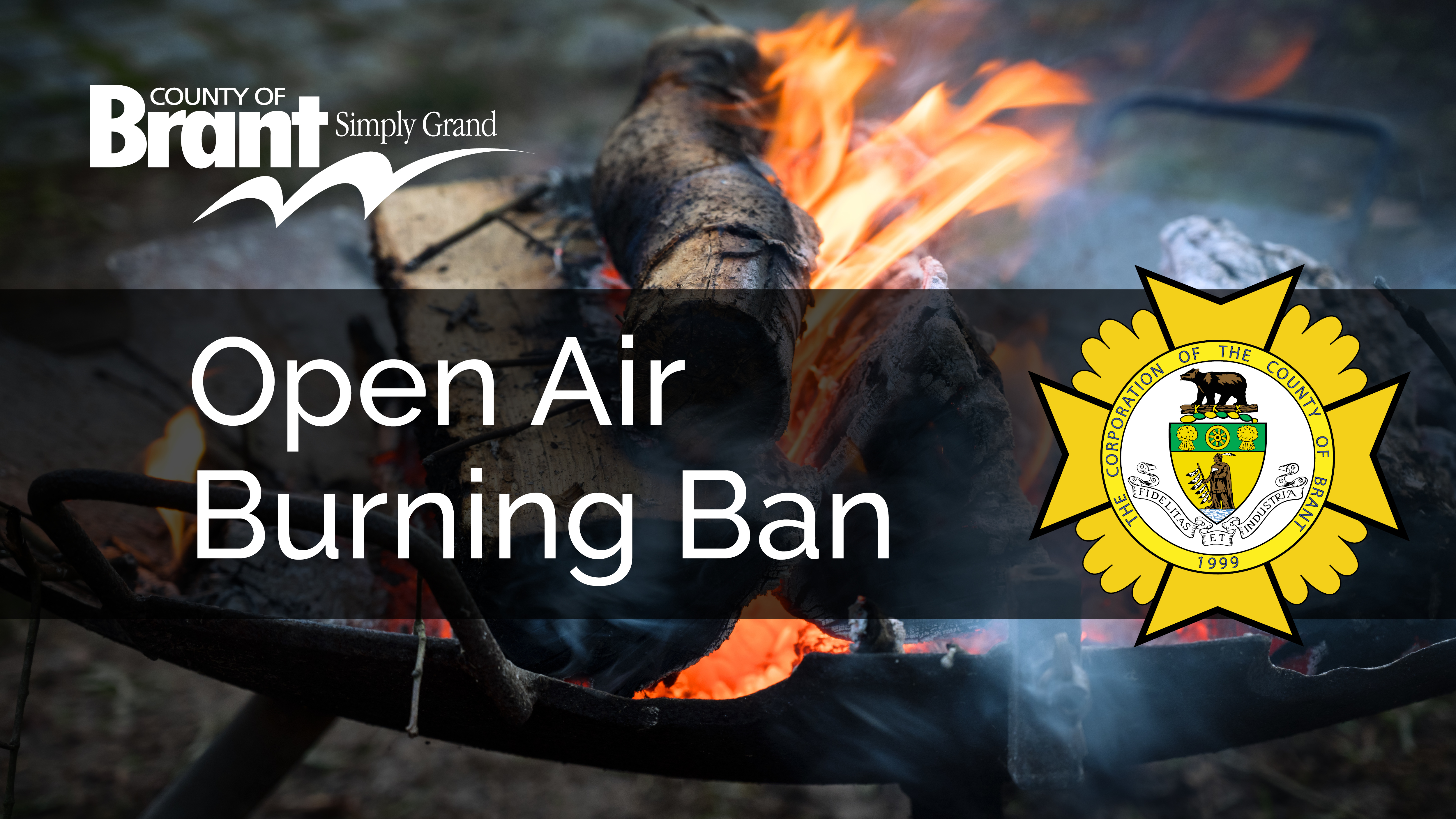 Open Air Burn Ban