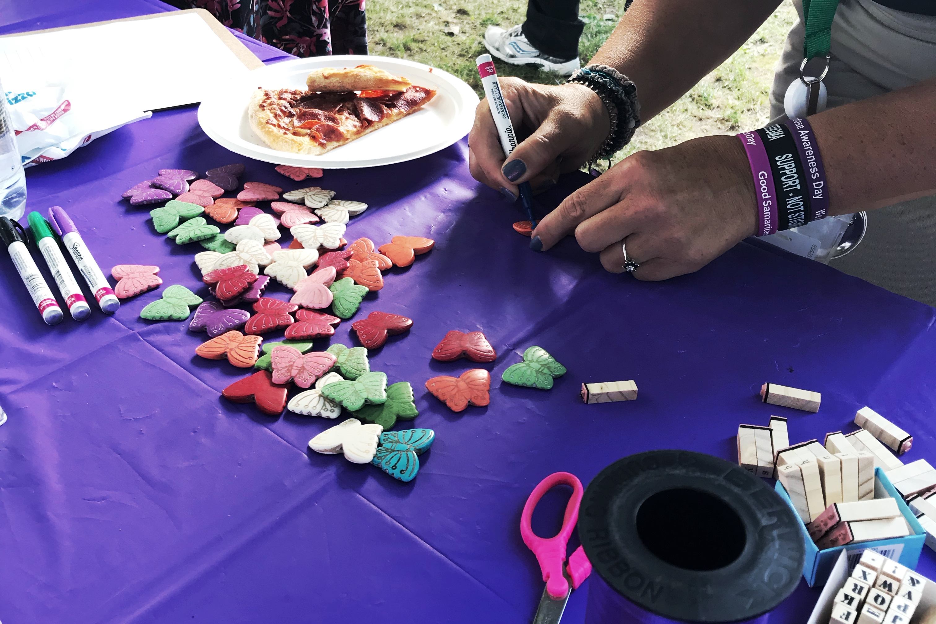 overdose awareness activity