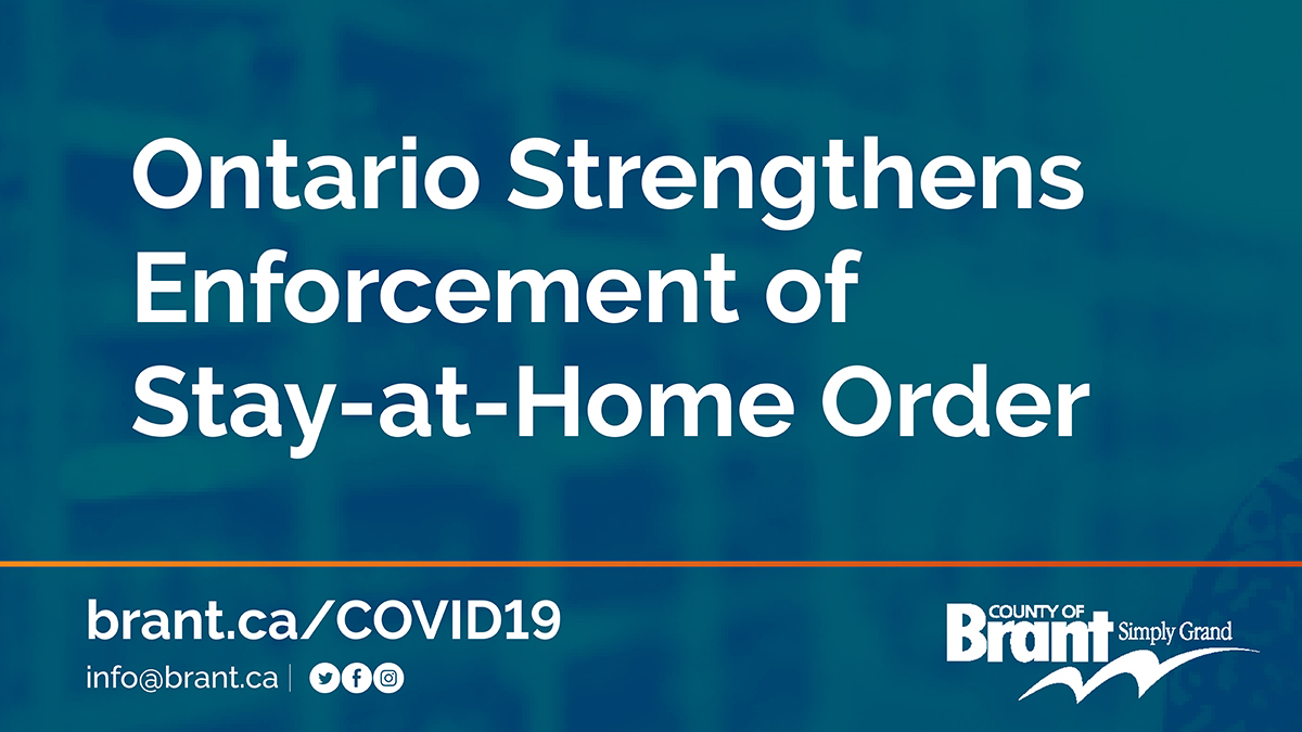 ontario stay at home order